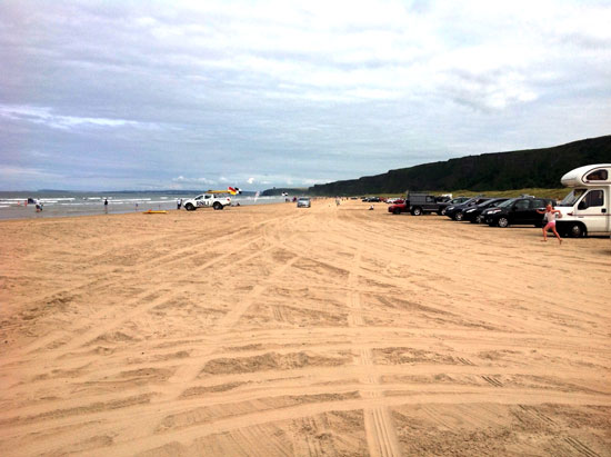 Benone Strand Is One Of The Most Popular Beaches Of The Causeway Coast Not Only For Visitors But For Locals Alike The Benone Strand Is Seven Miles Of